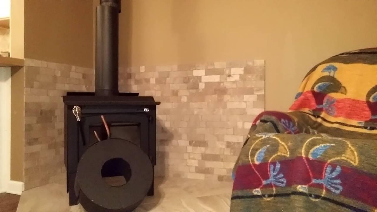 Stove pipe heat exchanger - Stove Pipe Heat Exchanger - YouTube