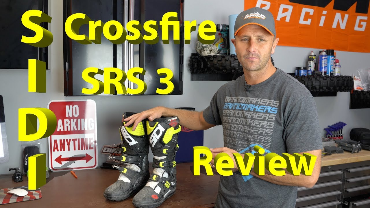 Sidi Crossfire 3 SRS Dirt Bike Boot | Product Review