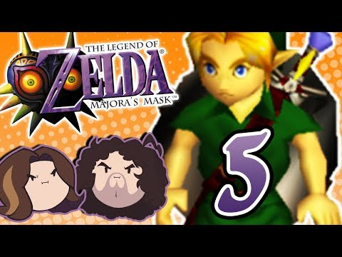 Zelda Majora's Mask: When the Clock Strikes Midnight - PART 5 - Game Grumps