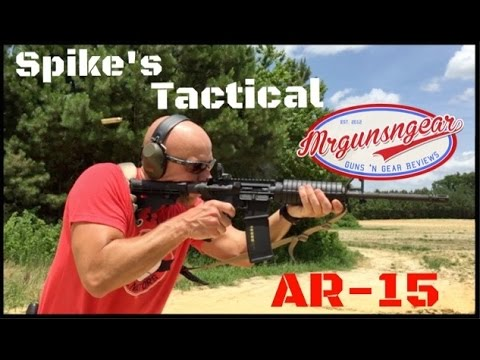 """Spike's Tactical ST-15 16"""" M4 LE Carbine AR-15 Rifle Review (HD)"""