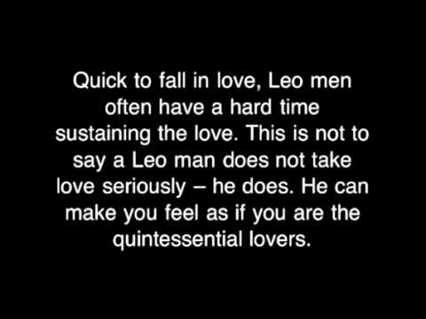 How to know if the leo man loves you