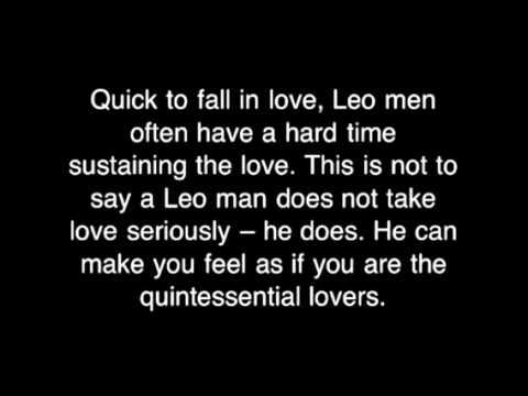 Leo Men In Love
