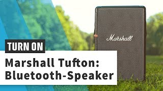 Marshall Tufton: Tragbarer XXL-Speaker im Vintage-Look