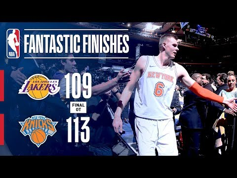 Best Of Down The Stretch Los Angeles Lakers vs. New York Knicks