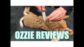 How to SkinButcher a Rabbit Hare for the Table