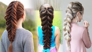 How To: Pull-Through Braid   Easy Braid Hairstyle