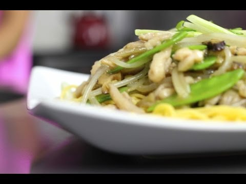 Asian Comfort Food...Chicken Chow Mein