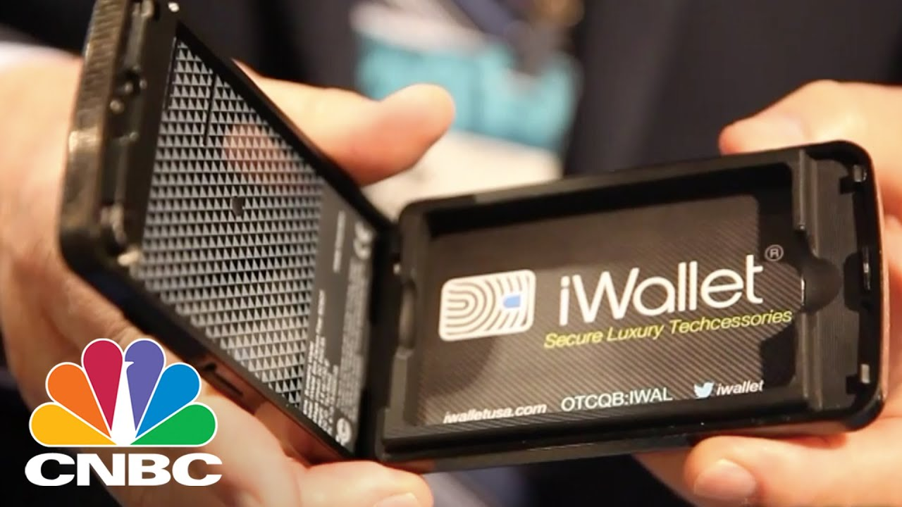 Iwallet The Secure Smart Wallet Ces 2015 Cnbc Youtube