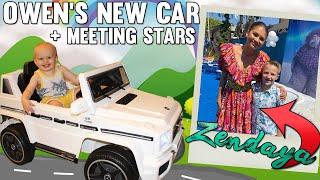 Baby Mercedes Driver & We Met Zendaya!! Plus Fan Mail! || Mommy Monday