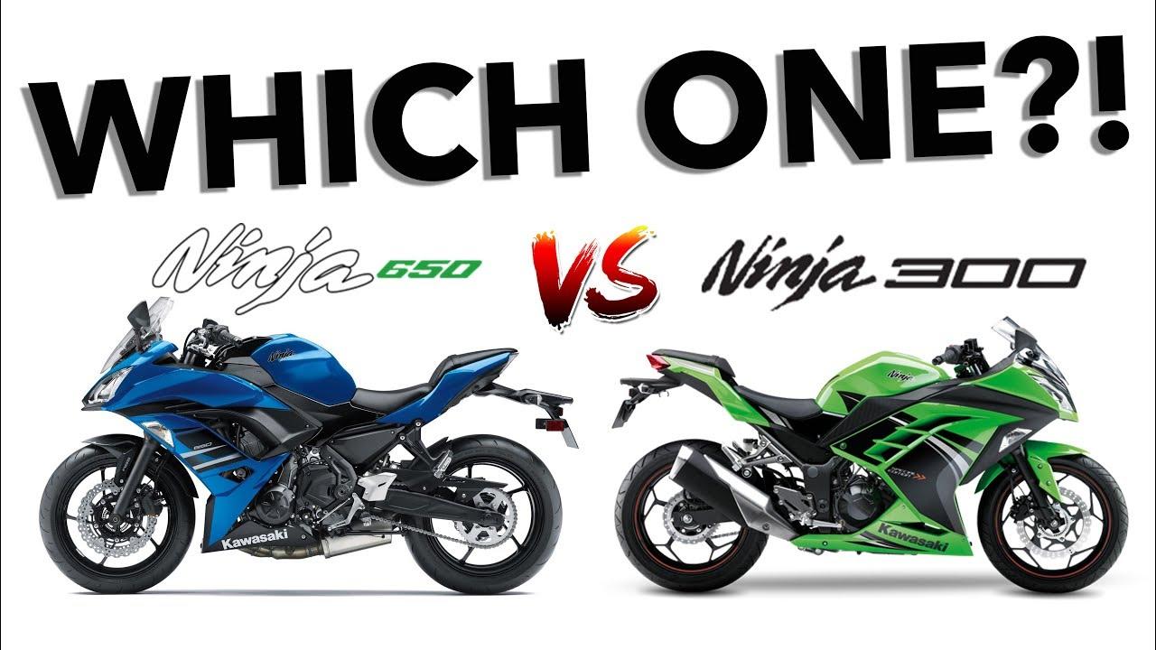 Ninja 300 Vs Ninja 650 Which Do You Pick Youtube