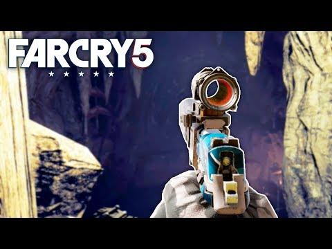 Far Cry 5 - SECRET UNDERGROUND CAVE (Far Cry 5 Free Roam) #15