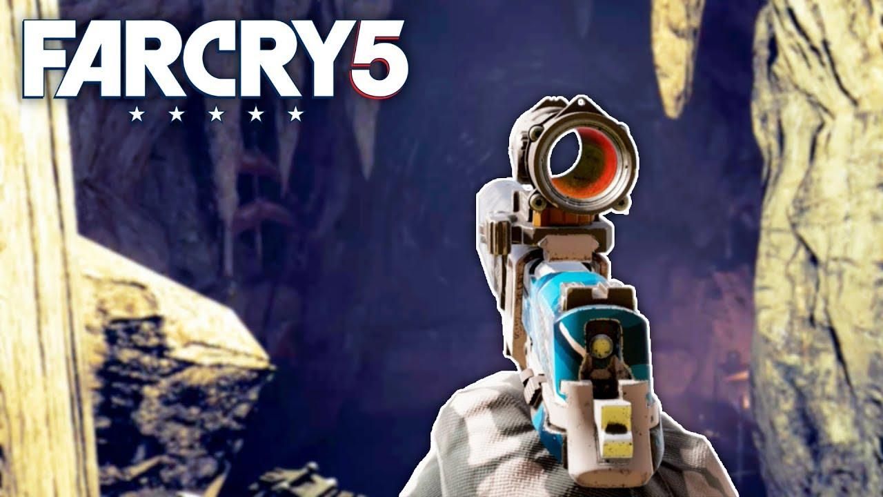 Man Cave Far Cry 5 Walkthrough : Far cry secret underground cave free roam