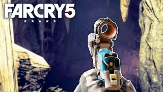 Far Cry 5 - SECRET UNDERGROUND CAVE (Far Cry 5 Free Roam) #15