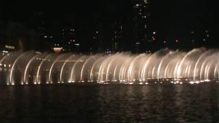 Burj Khalifa Dubai Water Fountain - Sama Dubai