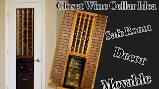 How To Build A Wine Cellar Closet