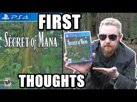 SECRET OF MANA PS4 (First Thoughts) - Happy Console Gamer