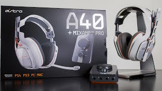 Astro A40 TR Unboxing by Yarasky