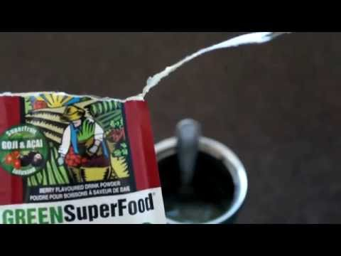 Review Amazing Grass Green Superfood goji Acai super food Fruit organic All Natural Drink powder