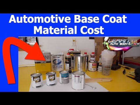 Automotive Base Coat Paint Cost