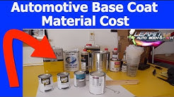 Automotive Base Coat Paint Cost - Grades of Base Coat Paint