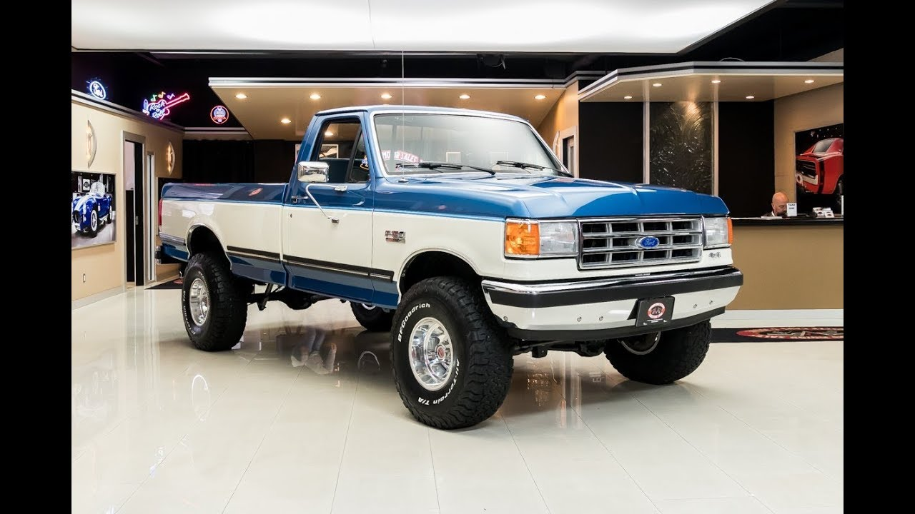 1988 Ford F 150 Xlt Lariat For Sale Youtube