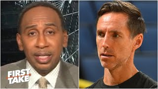Stephen A. has mixed emotions about the Nets hiring Steve Nash | First Take