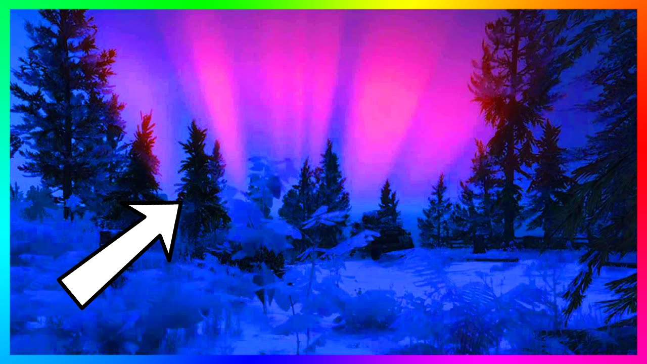 gta 5 christmas dlc 2015 secrets northern lights tampa feature golden trees more gta 5 youtube