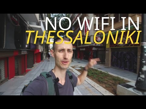 No WIFI in Thessaloniki!!!!