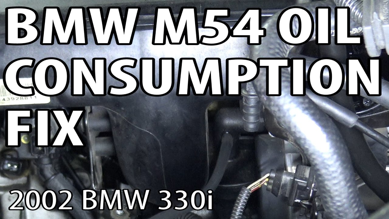 BMW E46/E39 M54 Engine Oil Consumption Fix (02Pilot Mod)