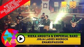 Rieka Anggita & Emperial Band - Seberkas Sinar (Nike Ardila - Cover) - Jogja Ladies Ngerock