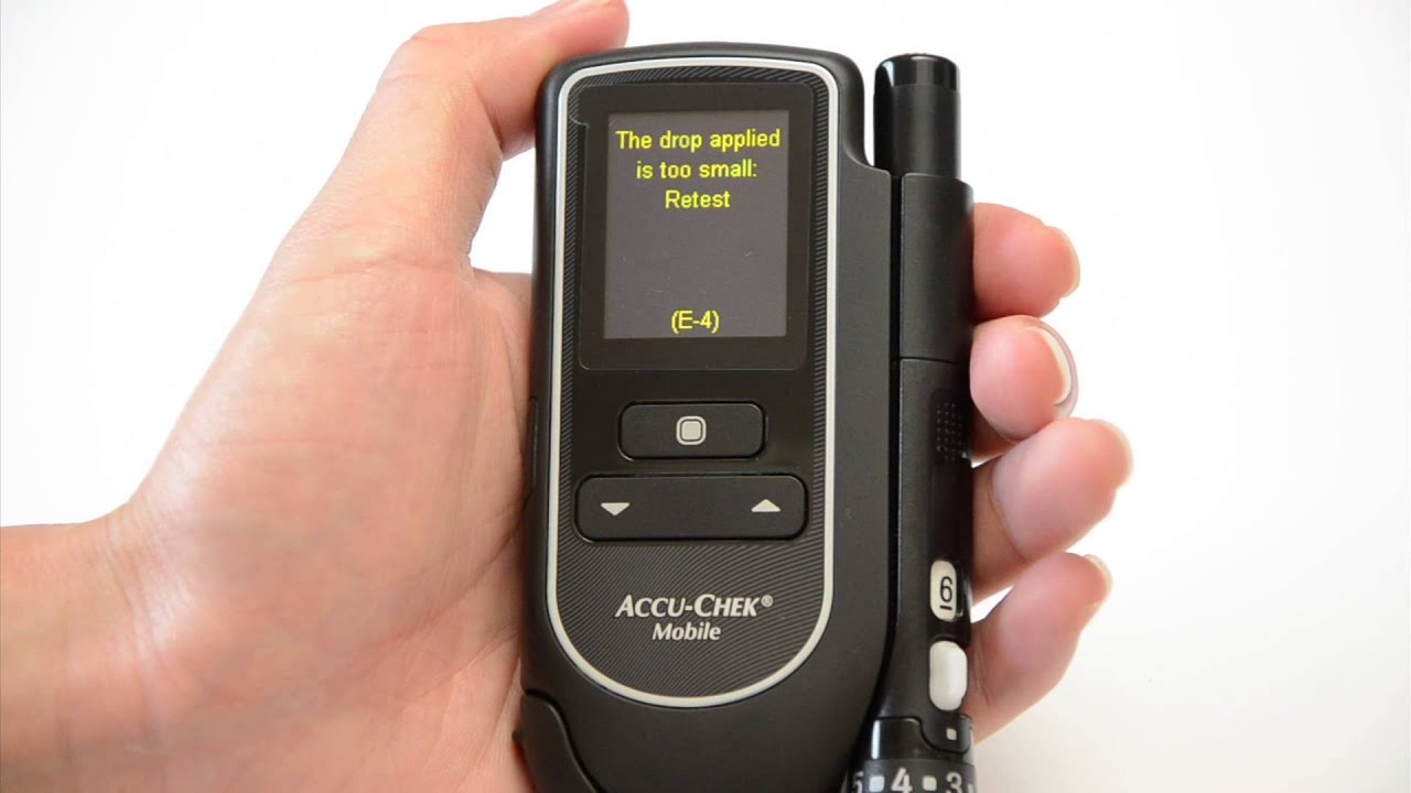 Free Blood Glucose Meter >> Accu-Chek Mobile Blood Glucose Meter Review - YouTube