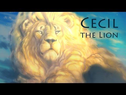 Speed Paint - Photoshop   Cecil the Lion