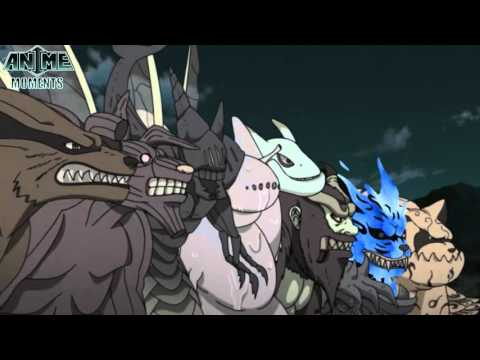 Ten Tails vs Nine Tailed Beasts - Naruto Shippuuden