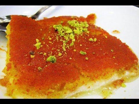 طريقة عمل الكنافة السورية بطريقة سهلة - YouTube