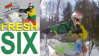 Rave X Motorsports Fresh 6 - Snowmobile DVD Trailer