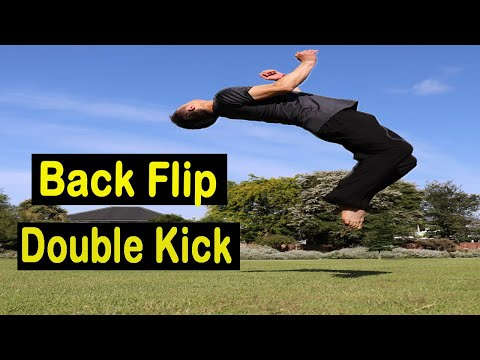Back Flip For Beginners Tutorial