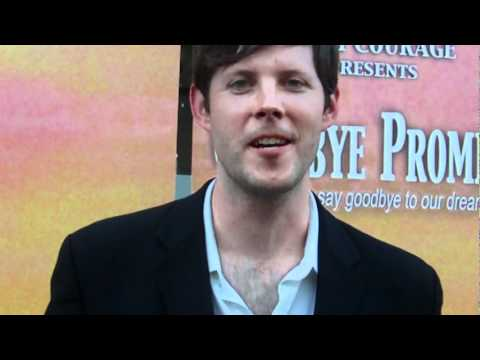 Goodbye Promise...John Paul Rice stops to to chat @ World Premiere!