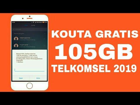 Baru Trik Cara Mendapatkan Kouta Gratis 105gb Telkomsel Terbaru