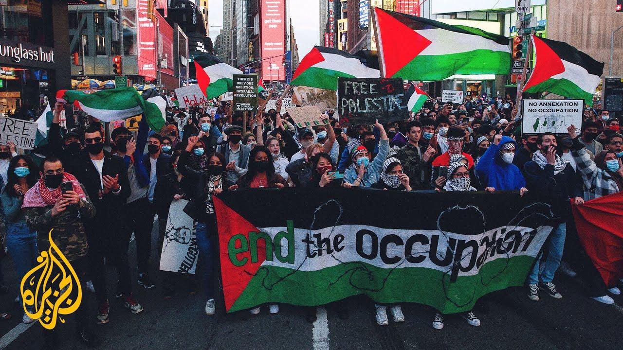 مظاهرتان في نيويورك وواشنطن دعما للفلسطينيين وتنديدا بالاحتلال الإسرائيلي  - نشر قبل 3 ساعة