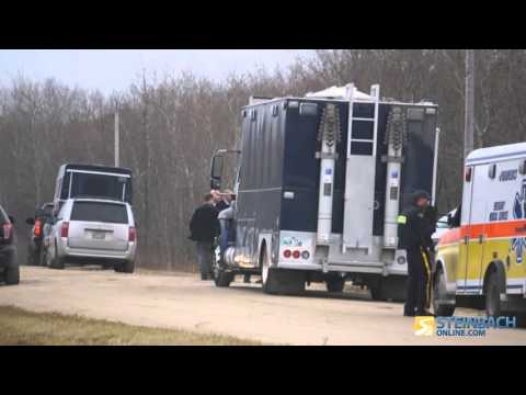Large Police Presence In St. Malo - YouTube