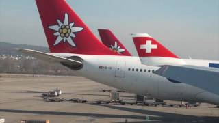 SWISS A330-300 HB-JHG LX 8 Zurich-Chicago Economy Class Trip Report