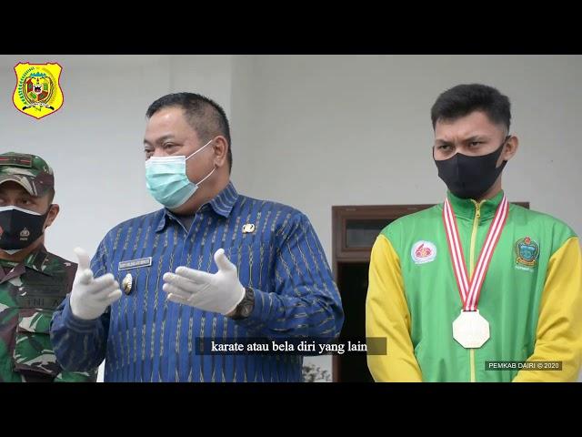 PEMBERANGKATAN ATLET MMA KABUPATEN DAIRI JUNISCHO MALAU