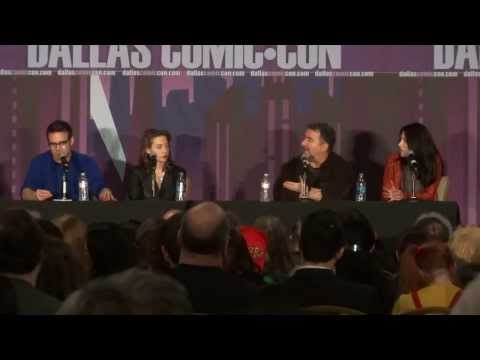 Warehouse 13 cast reunion Q & A at Comic Con Part 2 of 3