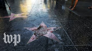 Trump's Walk of Fame star: The West Hollywood City Council wants it removed
