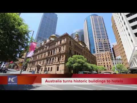 Australia turns history buildings to hotels
