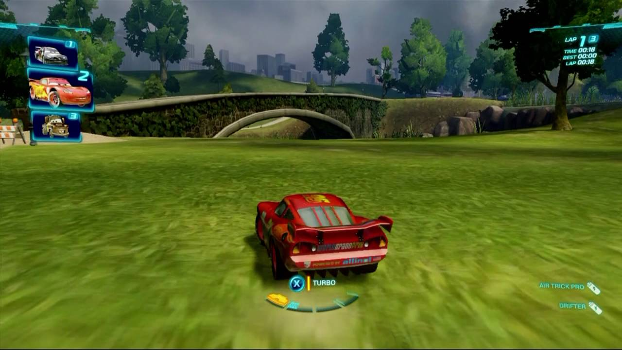 Cars 2 The Video Game 1 Race Lightning Mcqueen Youtube