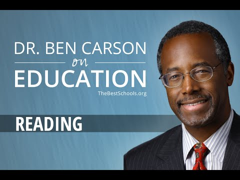 Ben Carson: Reading, Books, and Learning (4 of 14) — TheBestSchools.org Interviews