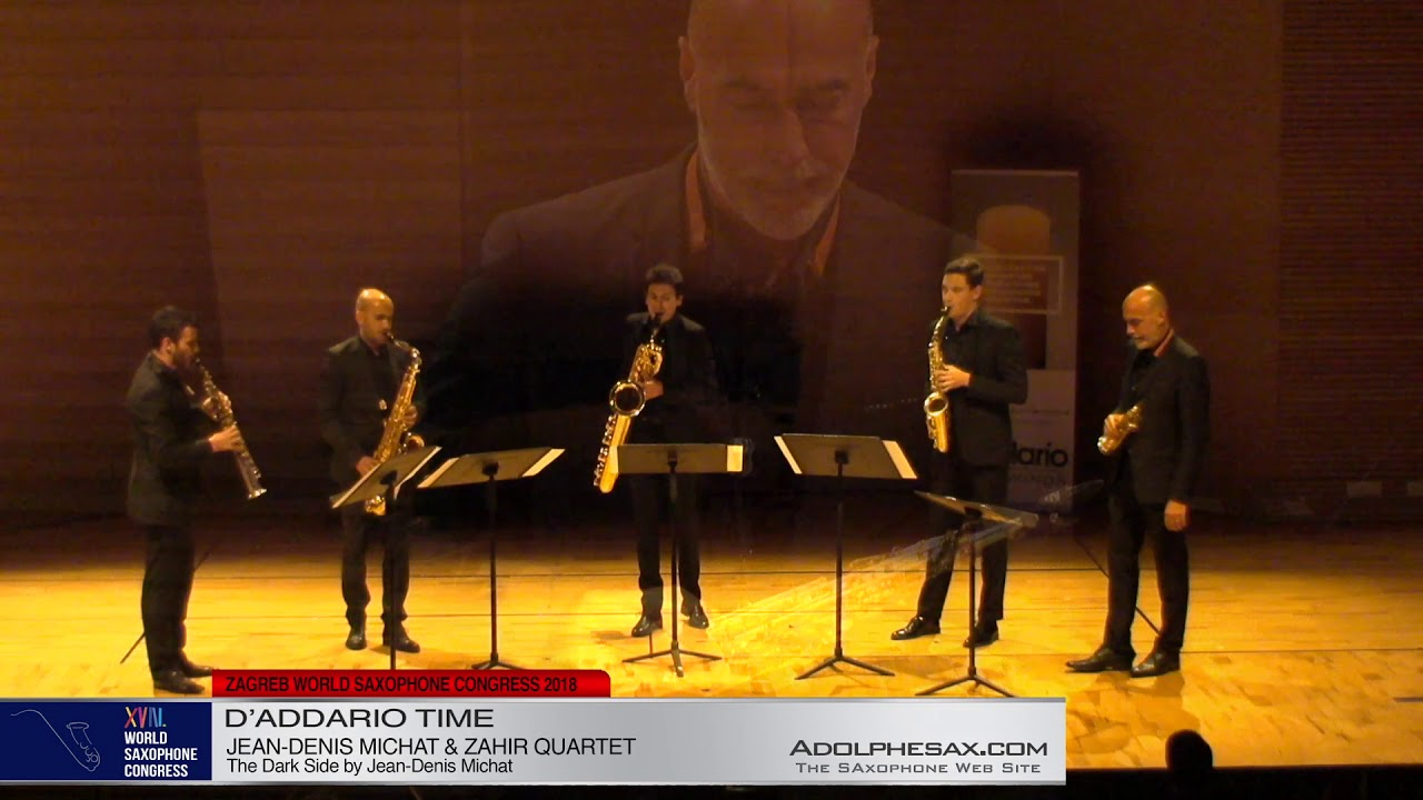The Dark Side by Jean Denis Michat   Zahir Quartet & Jean Denis Michat   XVIII World Sax Congress 20