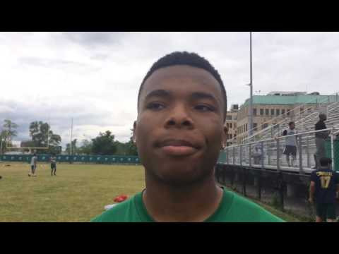 Detroit Cass Tech 2018 defensive back Kalon Gervin talks Dantoino and Harbaugh
