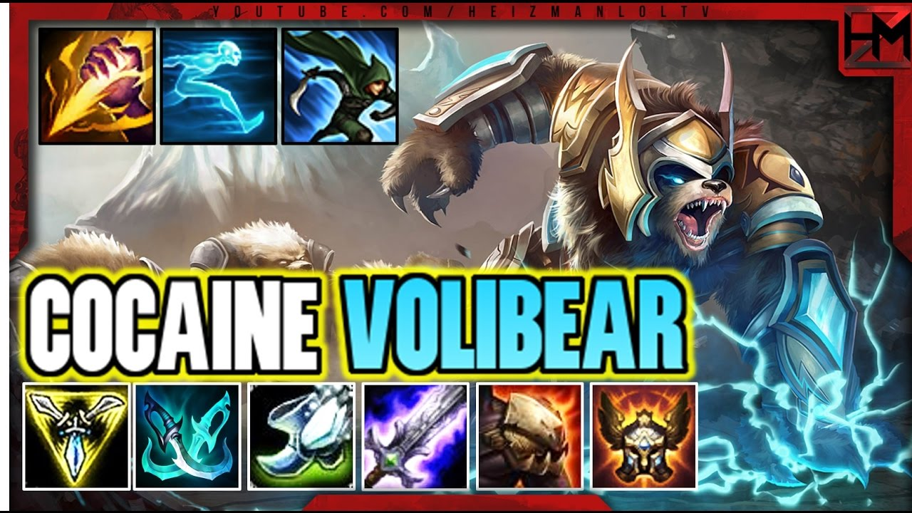 Cocaine Volibear Build Full Movement Speed Volibear League Of